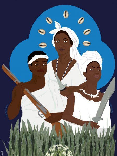 Yaa Asantewaa, Adbaraya Toya,Queen Nanny